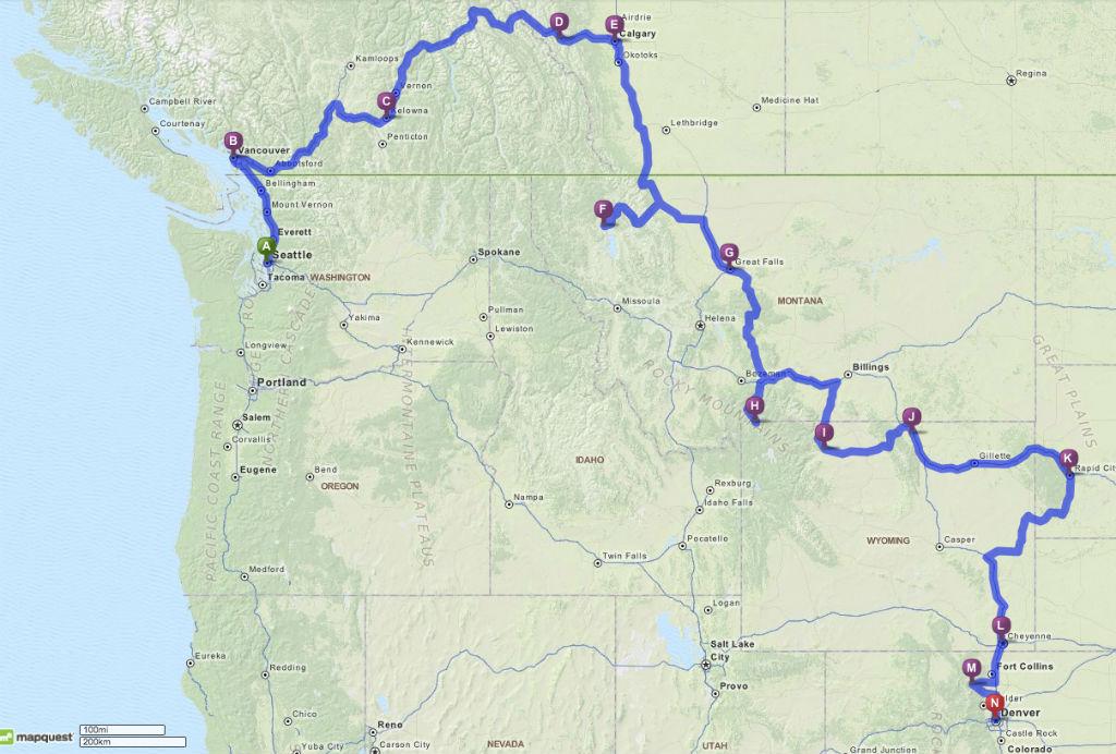 Route USA 2014